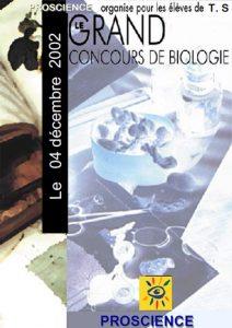 Concours de Biologie 2001