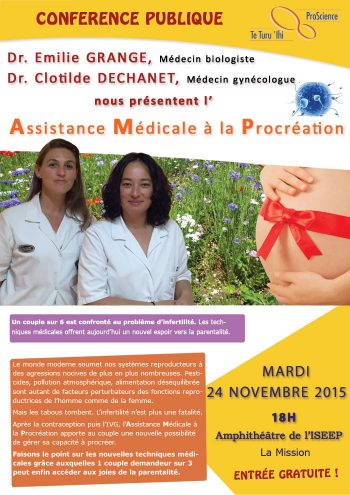 Conference assistance medicale à la procreation