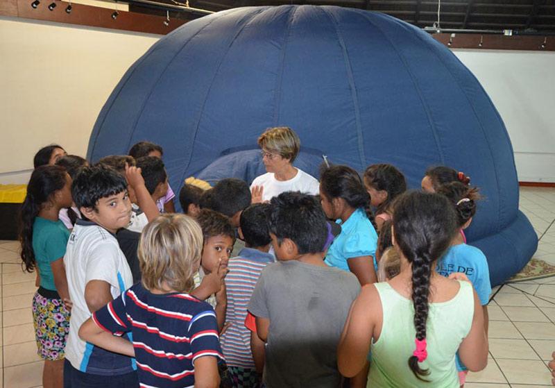 Planetarium numérique Cosmodyssee